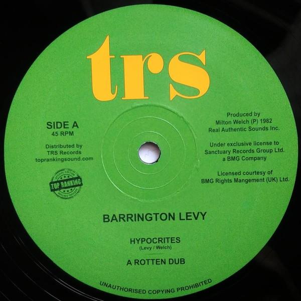 Barrington Levy : Hypocrites | Maxi / 10inch / 12inch  |  Oldies / Classics