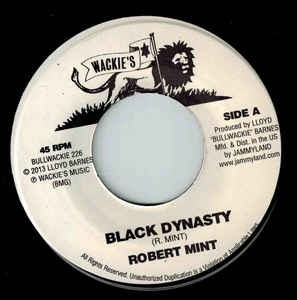 Robert Mint : Back Dynasty | Single / 7inch / 45T  |  Oldies / Classics