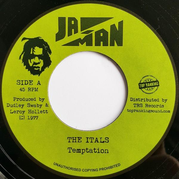 The Itals : Temptation | Single / 7inch / 45T  |  Oldies / Classics