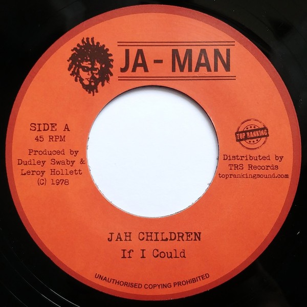 Jah Children : If I Could | Single / 7inch / 45T  |  Oldies / Classics