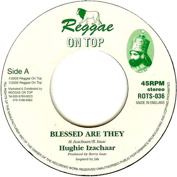 Hughie Izachaar : Blessed Are They   Single / 7inch / 45T     UK