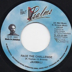 Jah Mali : Face The Challenge   Single / 7inch / 45T     Dancehall / Nu-roots