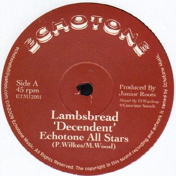Descendent Ft. Echotone All Stars : Lambsbread | Maxi / 10inch / 12inch  |  UK