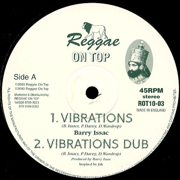 Barry Issac : Vibrations   Maxi / 10inch / 12inch     UK