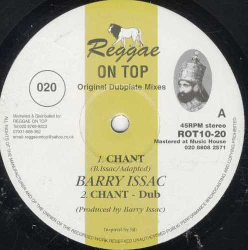 Barry Issac : Chant   Maxi / 10inch / 12inch     UK