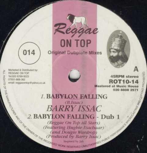 Barry Issac : Babylon Falling   Maxi / 10inch / 12inch     UK