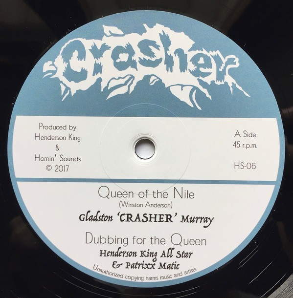 Gladston Crasher Murray : Queen Of The Nile   Maxi / 10inch / 12inch     Oldies / Classics