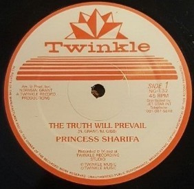 Princess Sharifa : The Truth Will Prevail | Maxi / 10inch / 12inch  |  UK