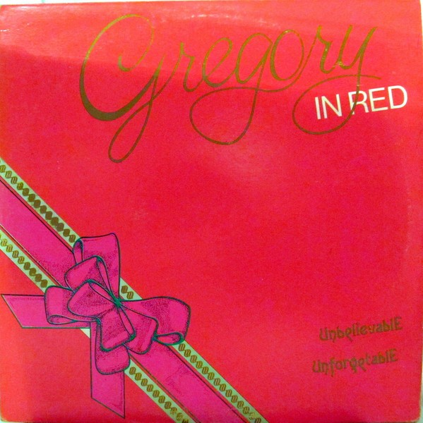 Gregory Isaacs : Gregory In Red | LP / 33T  |  Oldies / Classics