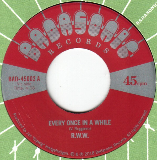 R.W.W. : Every Once In A While | Single / 7inch / 45T  |  Afro / Funk / Latin
