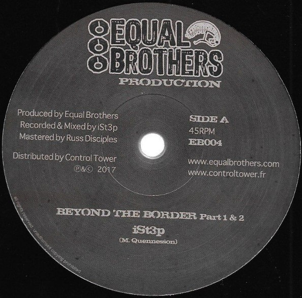 iSt3p : Beyond The Border | Maxi / 10inch / 12inch  |  UK