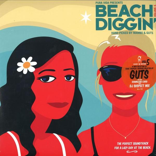Various : Pura Vida Presents : Beach Diggin' Volume 5 | LP / 33T  |  Various