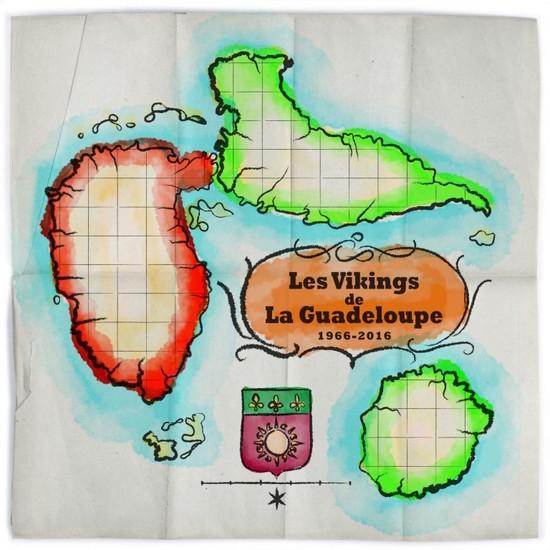 Les Vikings De La Guadeloupe : Best Of Les Vikings De La Guadeloupe 1966-2016 | LP / 33T  |  Various