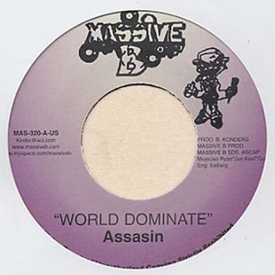 Assassin : World Dominion | Single / 7inch / 45T  |  Dancehall / Nu-roots