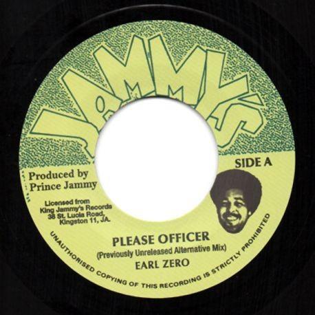 Earl Zero : Please Officer | Single / 7inch / 45T  |  Oldies / Classics