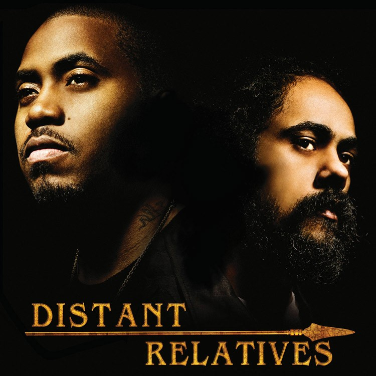 Nas Feat. Damian Marley : Distant Relatives | LP / 33T  |  Dancehall / Nu-roots
