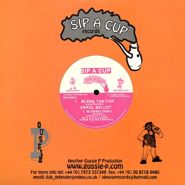 Errol Bellot : Bless The Cup | Maxi / 10inch / 12inch  |  UK