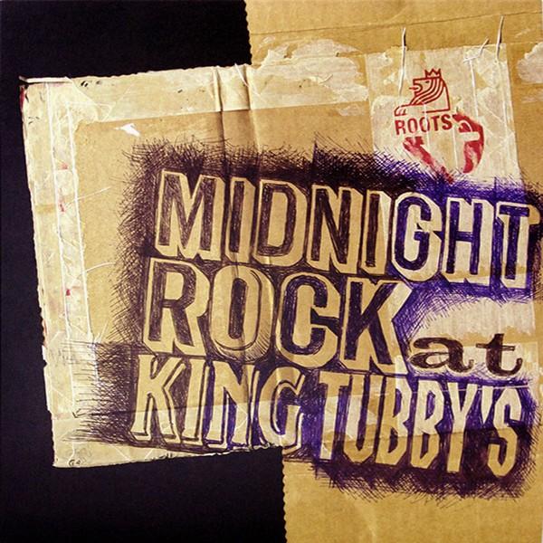 Nkrumah Jah Thomas : Midnight Rock At King Tubby's   LP / 33T     Dub