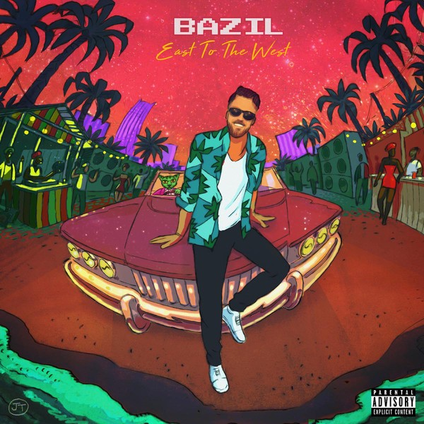Bazil : East To The West | CD  |  Dancehall / Nu-roots