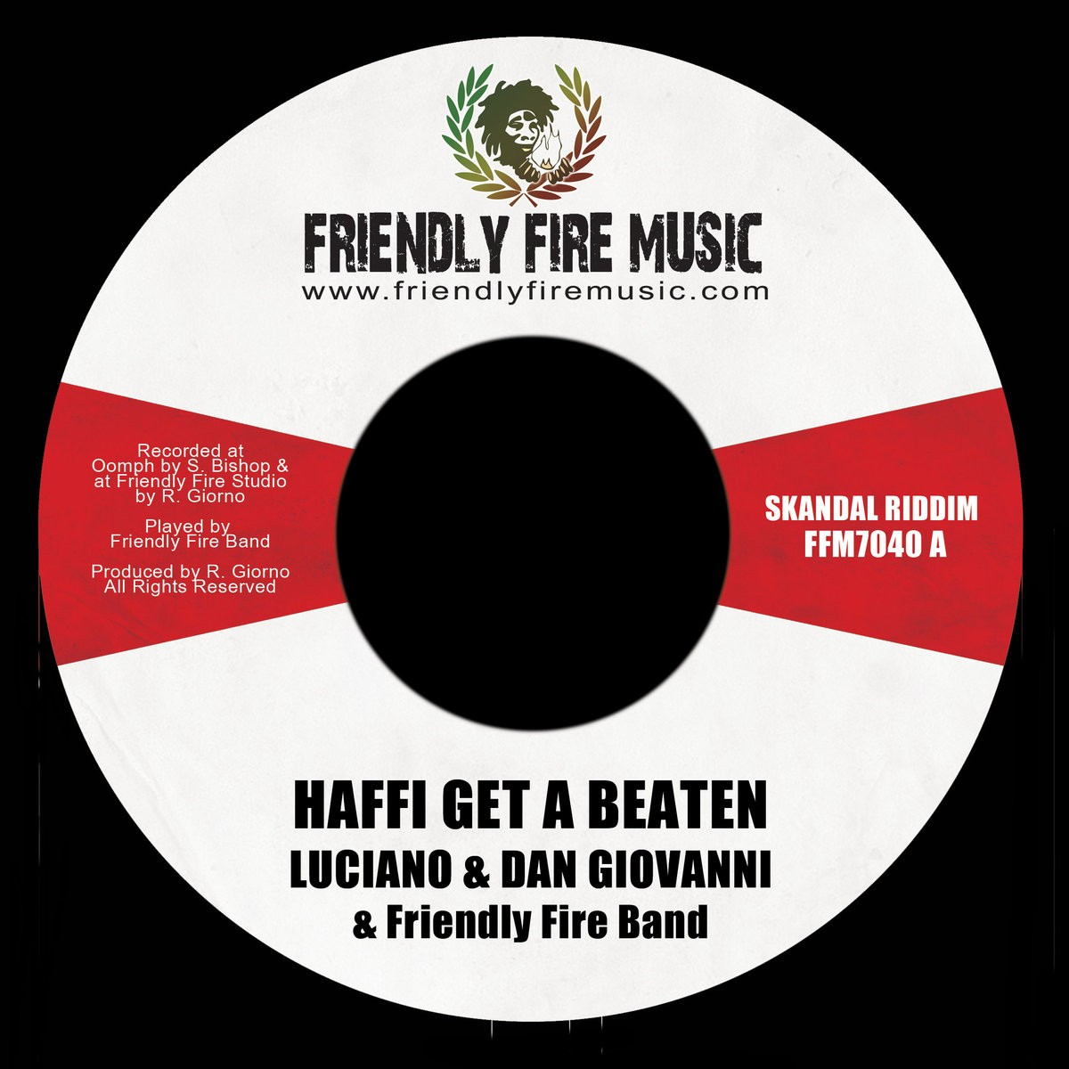 Luciano , Dan Giovanni : Haffi Get A Beaten | Single / 7inch / 45T  |  Dancehall / Nu-roots