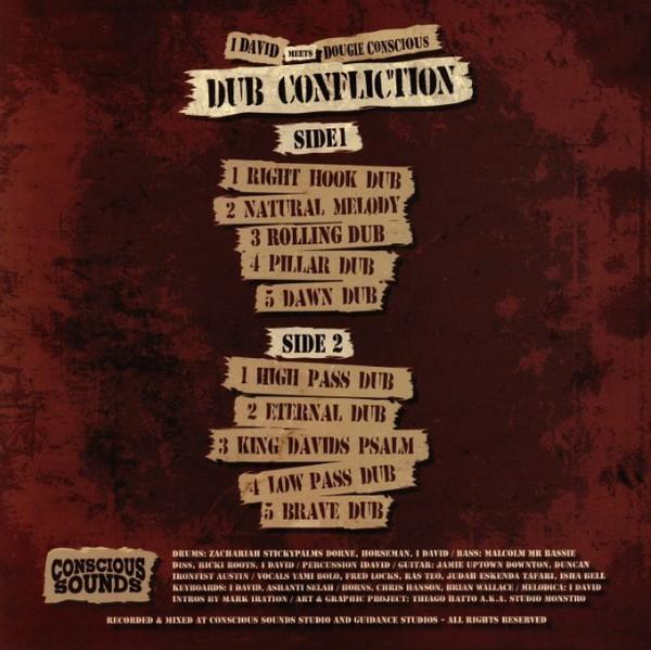 I-David meets Dougie Conscious : Dub Confliction | LP / 33T  |  UK