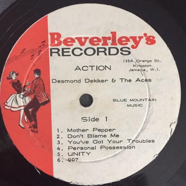 Desmond Dekker & The Aces : Action | LP / 33T  |  Oldies / Classics