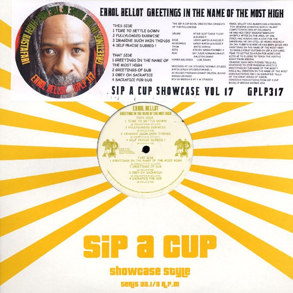 Errol Bellot : Greetings In The Name Of The Most High | LP / 33T  |  UK