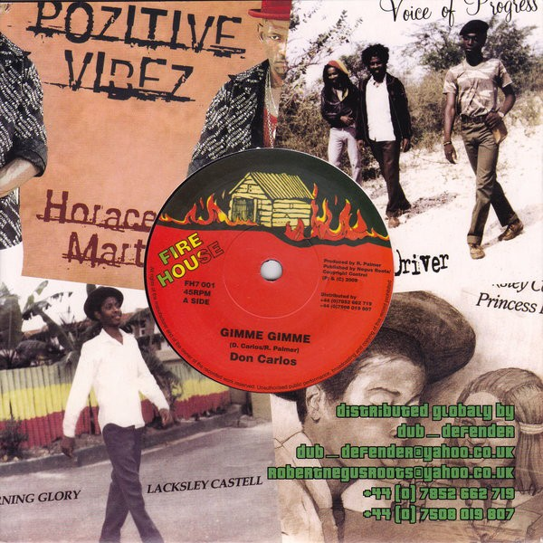 Don Carlos : Gimme Gimme | Single / 7inch / 45T  |  Oldies / Classics