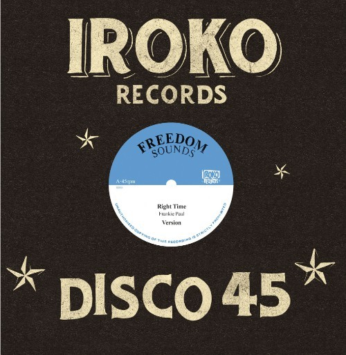 Frankie Paul : Right Time   Maxi / 10inch / 12inch     Oldies / Classics