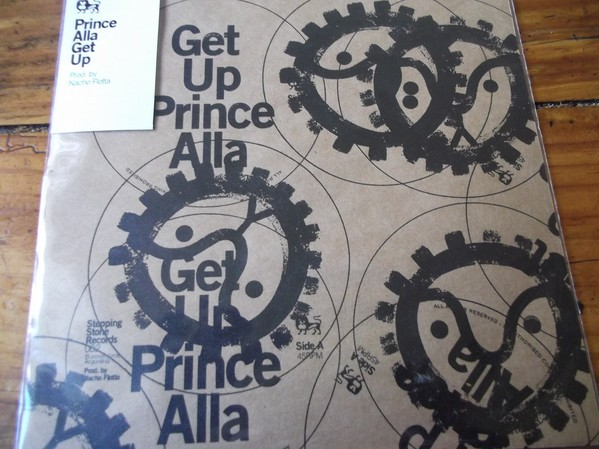Prince Alla : Get Up | Single / 7inch / 45T  |  UK