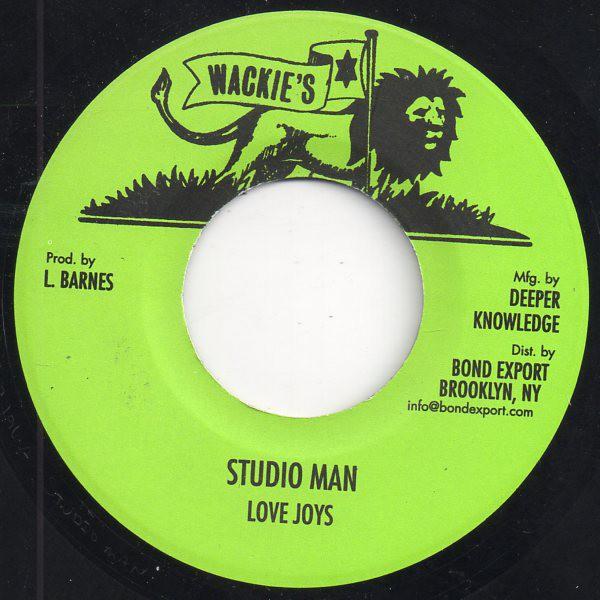 Love Joys : Studio Man | Single / 7inch / 45T  |  Oldies / Classics