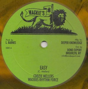 Coozie Mellers, Wackies Rhythm Force : Easy | Maxi / 10inch / 12inch  |  Oldies / Classics