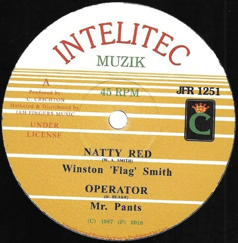 Winston : Natty Red   Maxi / 10inch / 12inch     Oldies / Classics