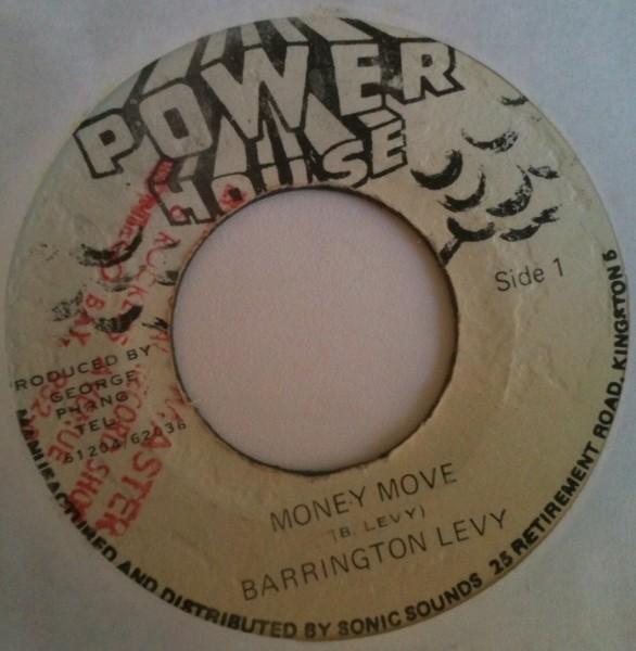 Barrington Levy : Money Move | Single / 7inch / 45T  |  Dancehall / Nu-roots