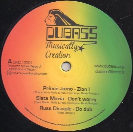 Prince Jamo : Zion I | Maxi / 10inch / 12inch  |  UK