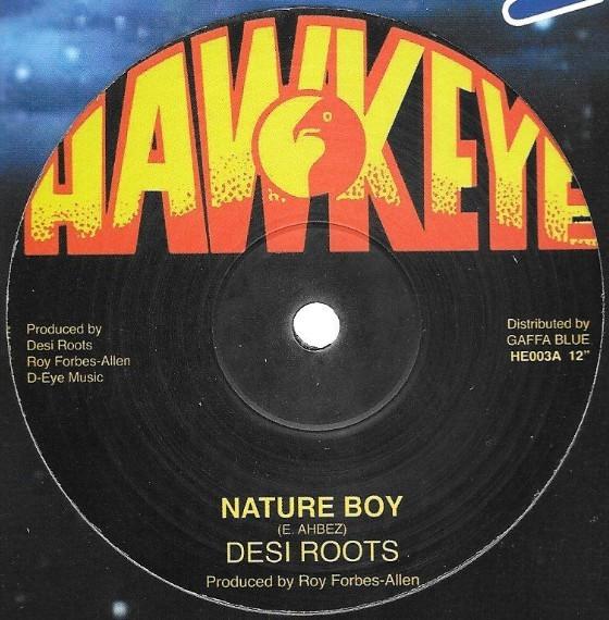 Desi Roots : Nature Boy ( Black )   Maxi / 10inch / 12inch     UK