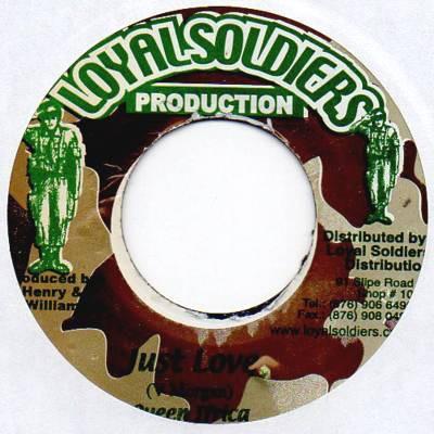 Queen Ifrica : Just Love | Single / 7inch / 45T  |  Dancehall / Nu-roots
