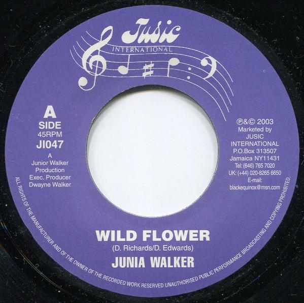 Junior Walker : Wild Flower | Single / 7inch / 45T  |  UK