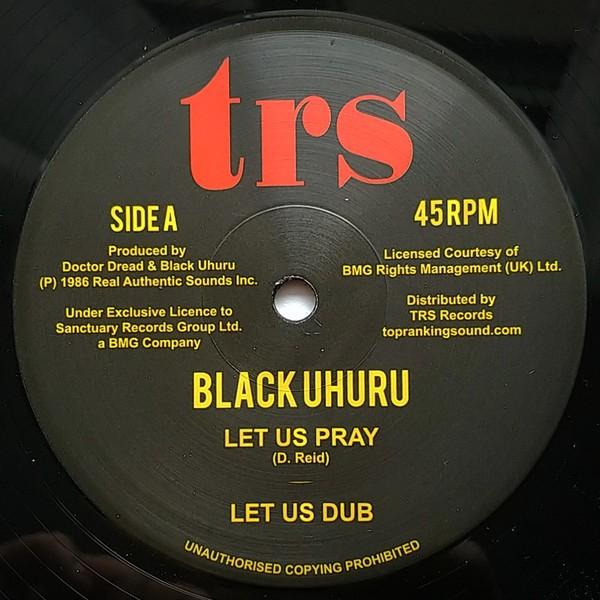 Black Uhuru : Let Us Pray   Maxi / 10inch / 12inch     Oldies / Classics