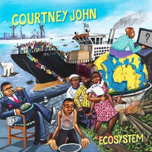 Courtney John : Ecosystem   LP / 33T     Dancehall / Nu-roots
