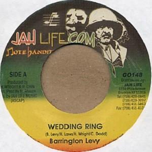 Barrington Levy : Wedding Ring | Single / 7inch / 45T  |  Oldies / Classics