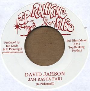 David Jahson : Jah Rasta Fari   Single / 7inch / 45T     Oldies / Classics