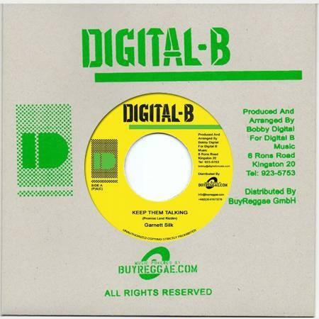 Garnett Silk : Keep Them Talking | Single / 7inch / 45T  |  Dancehall / Nu-roots