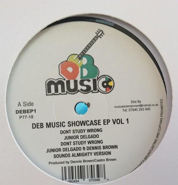 Junior Delgado / Dennis Brown : DEB Music Showcase EP Vol 1   Maxi / 10inch / 12inch     Oldies / Classics