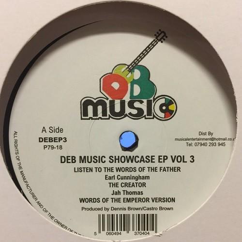 Various : Deb Music Showcase Ep Vol 3 | Maxi / 10inch / 12inch  |  Oldies / Classics