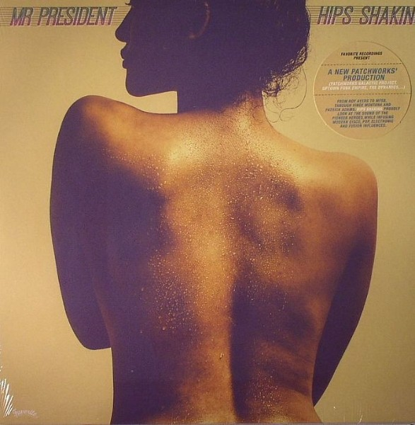 Mr President : Hips Shaking | CD  |  Dancehall / Nu-roots
