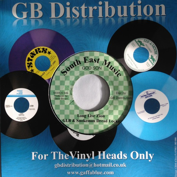 Glb & Smokeman Dread Locks : Long Live Zion | Single / 7inch / 45T  |  Oldies / Classics