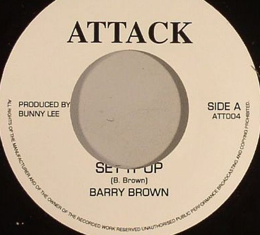 Barry Brown : Step It Up | Single / 7inch / 45T  |  Oldies / Classics