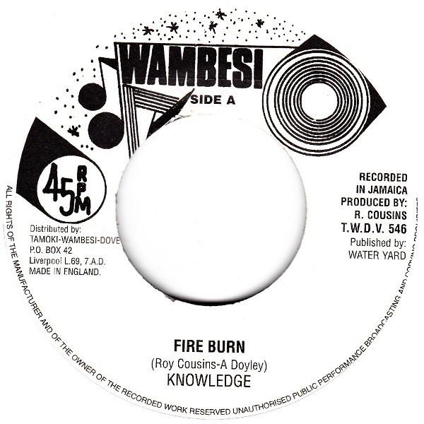 Knowledge : Fire Burn
