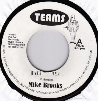 Mike Brooks : Over Yander | Single / 7inch / 45T  |  UK